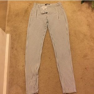 Missguided Checkered Trouser NEW WITHOUT TAGS
